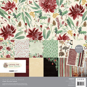 Under the Gum Leaves Paper Pack with Bonus Sticker Sheet