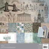 Kaisercraft Paper pack w/ bonus sticker sheet - Explorer