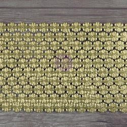 Prima Marketing - Dresden Trims - Daisy Chain Large Gold