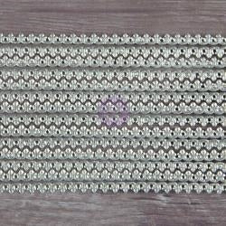 Prima Marketing - Dresden Trims - Daisy Chain Small Silver