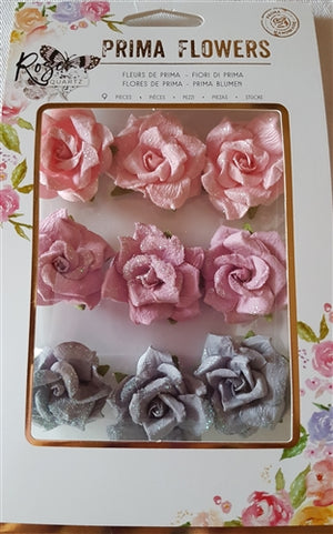 Rose Quartz Flowers - Thassos From Prima Marketing