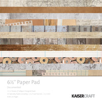 "Kaisercraft Documented Collection - 6.5x6.5"" Paper Pad"