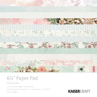 "Kaisercraft Fairy Garden Collection - 6.5x6.5"" Paper Pad"