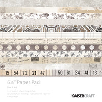 "Kaisercraft Pen & Ink Collection - 6.5x6.5"" Paper Pad"