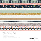 Kaisercraft Hide and Seek Collection - Paper Pad 6.5""