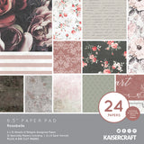 "Kaisercraft Rosabella Collection - 6 1/2 x 6 1/2"" Paper Pad"