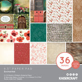 "Kaisercraft Enchanted Collection  - 6.5"" Paper Pad 