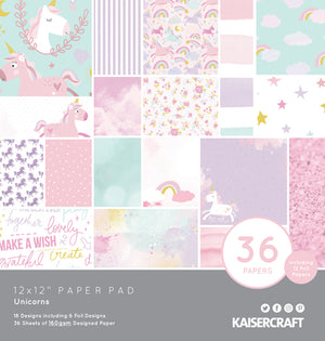 "Kaisercraft 12 x 12"" Paper Pad (36 pages)"