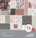 "Kaisercraft Rosabella Collection - 12 x 12"" Paper Pad"