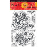 Power Poppy by Marcella - Clear Stamps - Daffodils (4 x 6 Inches)