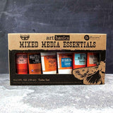 Prima - Finnabair - Art Basics - Mixed Media Essentials - Starter Kit (6 - Pkg)