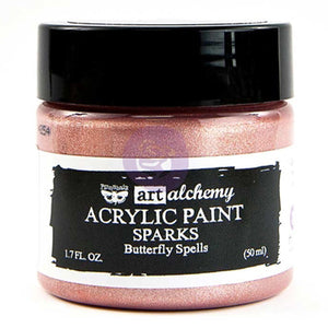 Prima - Art Alchemy Sparks Acrylic Paint (50ml) - Butterfly Spells