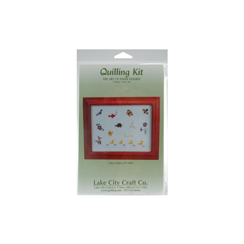 Lake City Craft - Quick & Easy Quilling Kit - Little Critter