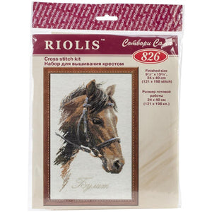 Riolis - Counted Cross Stitch Kit - Horse (Bulat)