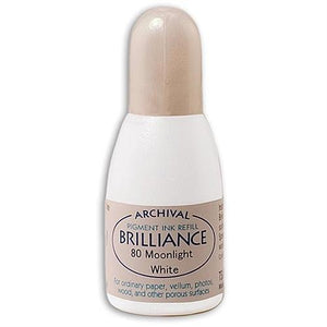 Brilliance Ink Refill - Moonlight White