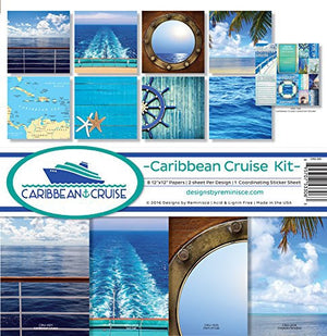 Reminisce - Collection Pack - Caribbean Cruise (12 x 12)