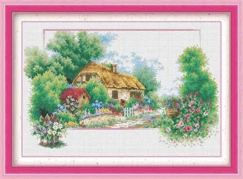 Complete Cross Stitch Kit - Summer