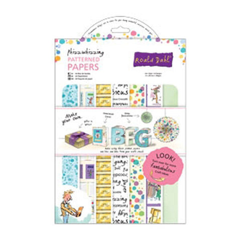 Roald Dahl - A4 Phizz - whizzing Paper Pack (32pk)