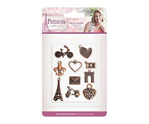 Parisian - Metal Charms | Crafter's Companion