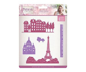 Parisian - Metal Die - Scenic France | Crafter's Companion