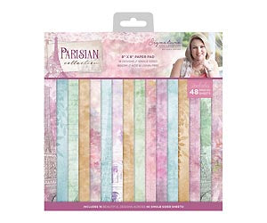 Parisian - 8 x 8 Paper Pad | Crafter's Companion