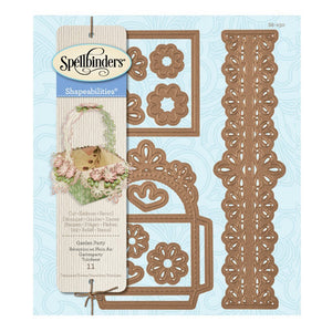 Spellbinders - Shapeabilities Die - Heart & Home - Garden Party