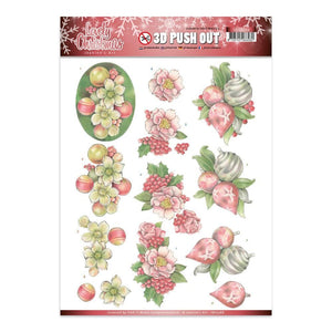 Jeanine's Art - Lovely Christmas A4 Decoupage Sheet, Baubles