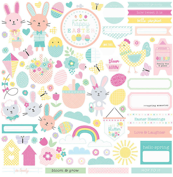 Photoplay Easter Blessings Stickers - Elements