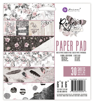 Prima - Rose Quartz Paper Pad - (6 x 6 inches)