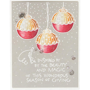 Spellbinders Cling Stamps - Dangling Ornaments