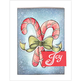 Spellbinders Stamp and Die Set - Christmas Candy Canes