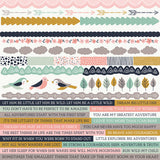 Kaisercraft Hide and Seek Collection - 12x12 Printed Sticker Sheet