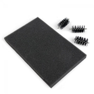 Sizzix Accessory - Replacement Die Brush Rollers & Foam Pad for Wafer-Thin Dies