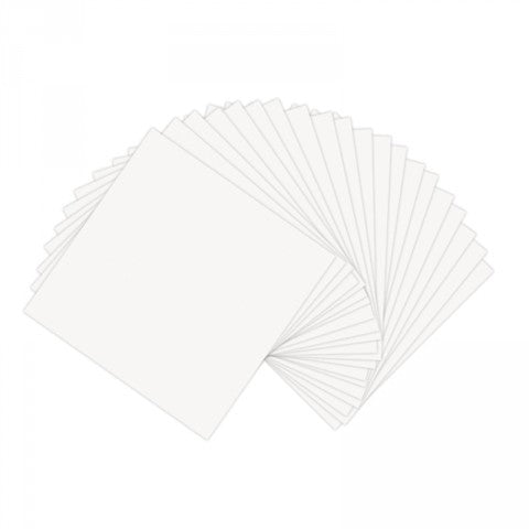 Sizzix - Paper Leather - White (6 x 6 inches) Sheets 20/Pkg