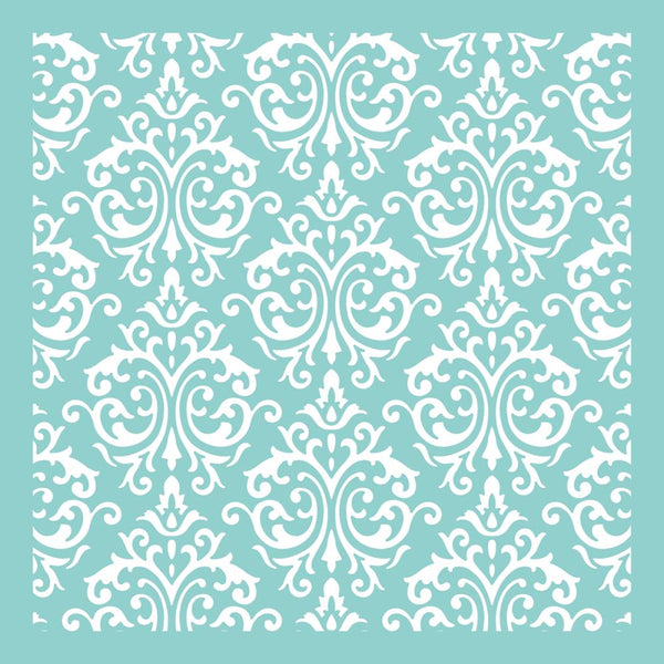 Kaisercraft - 12x12 Template - Damask
