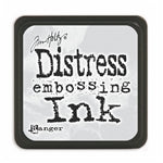 Ranger (Tim Holtz) - Distress Mini Embossing Ink Pads (1 x 1 inch) Stackable