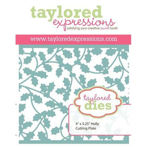 Taylored Expressions - Holly Cutting Plate (Die)