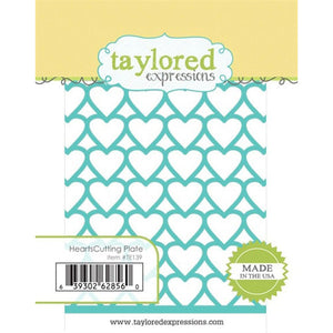 Taylored Expressions - Hearts Cutting Plate (Die)