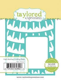 Taylored Expressions - Party Banner Cutting Plate