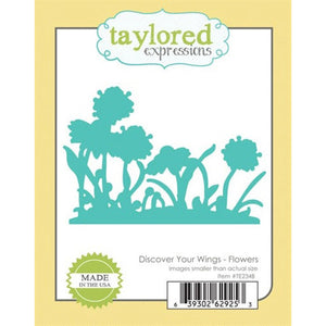 Taylored Expression Dies - Discover Your Wings - Flowers
