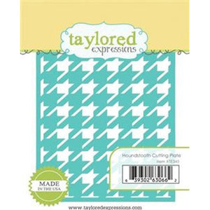 Taylored Expressions - Houndstooth Cutting Plate