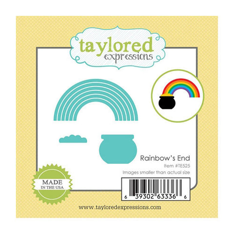 Taylored Expressions Die - Rainbows End