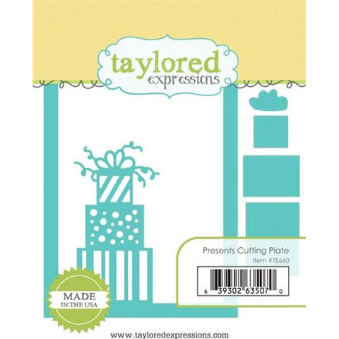 Taylored Expressions - Presents Cutting Plate