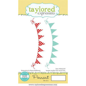 Taylored Expression Stamps - Pennant