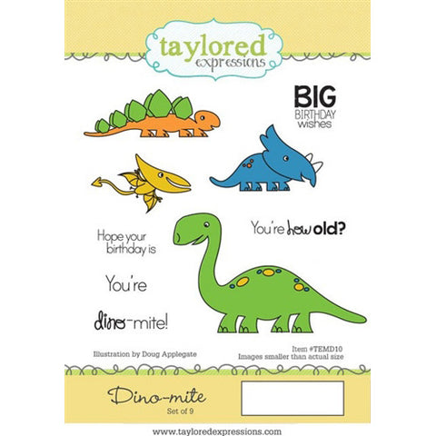 Taylored Expressions - Stamp - Dino - Mite