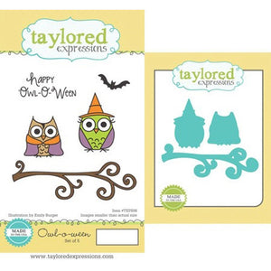 Taylored Expressions - Owl - o - ween with coordinating dies