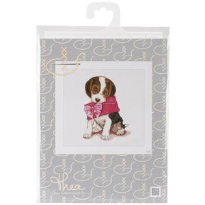 Thea Gouverneur - Counted Cross Stitch Kits - Pupply Love
