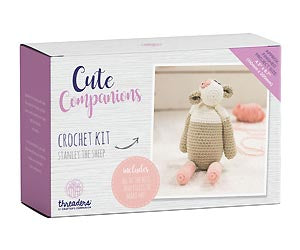Cute Companions - Stanley the Sheep Crochet Kit