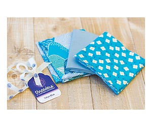 Threaders 3-Piece Fat Quarters - Tokyo Blue Set 1