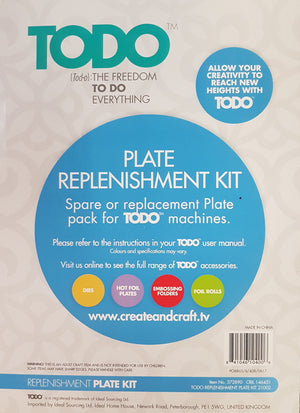 TODO Plate Replenishment Kit WH